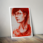 Masha Portrait Painting