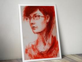 Masha Portrait Painting