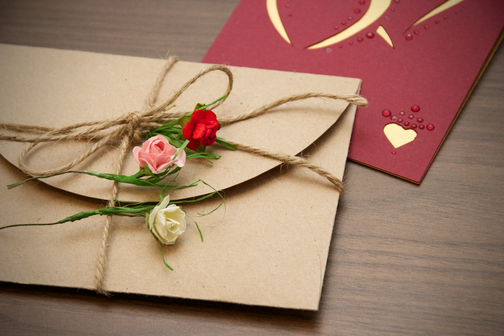 Paper Roses For Cards