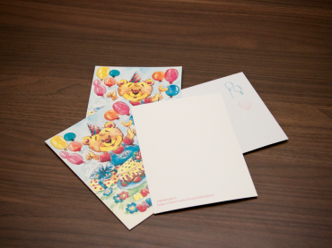 Potap The Bear Envelope And Card