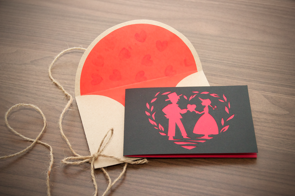 The Two Lovers Card