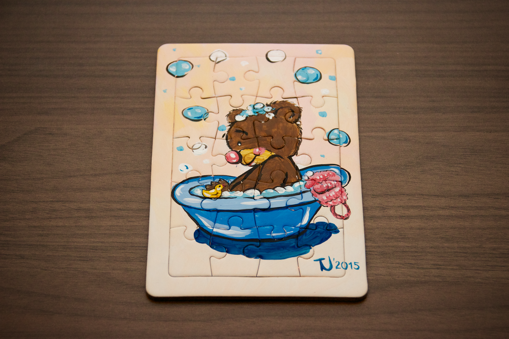 Potap The Swimmer Bear Puzzle