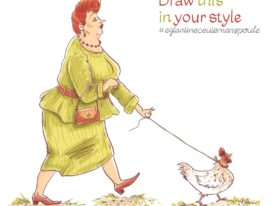 Taking my chicken for a walk