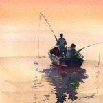 Fishermen at dawn