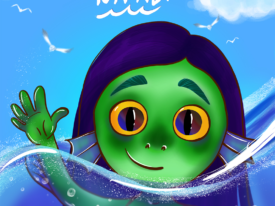 Myself as a Luca' Sea Monster character