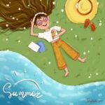 Summer vibes digital media